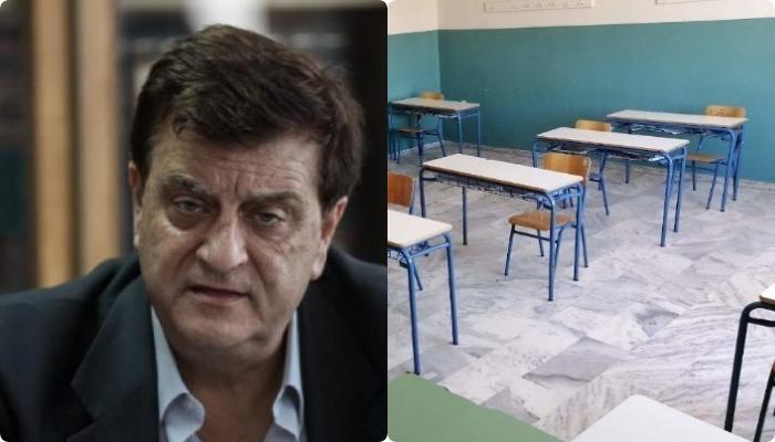 """Πρόεδρος ΟΛΜΕ στο Ιnfokids: """"Το self test της Πέμπτης καθοριστικό για τη λειτουργία των σχολείων"""""""