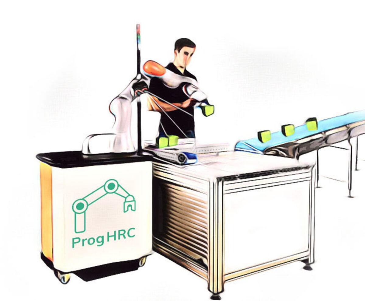 ProgHRC: Ένα καινοτόμο ρομπότ για τη βιομηχανία που μαθαίνει από τον άνθρωπο