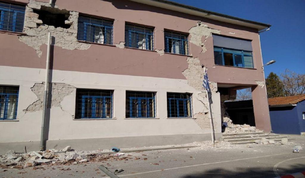 Υπ. Εσωτερικών: Χρηματοδότηση 4 εκατ. ευρώ για σχολεία που έχουν πληγεί από το σεισμό στη Λάρισα