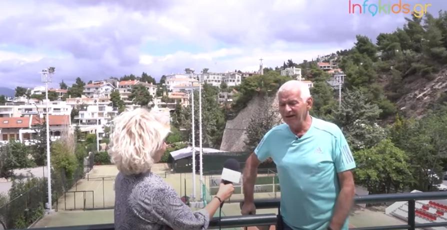 O ιδρυτής του Politeia Tennis Club μάς μιλά για τον Τσιτσιπά, το τένις και τα παιδιά