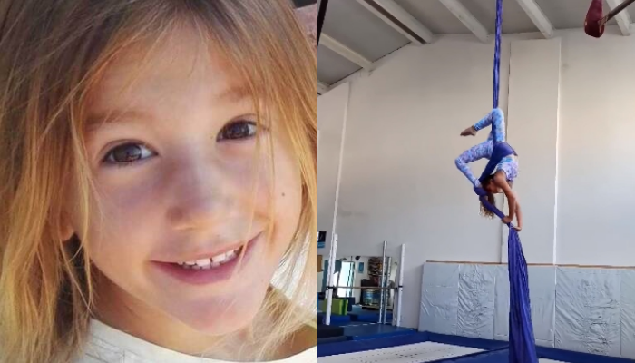 H 7χρονη Αναστασία λάτρευε την εναέρια ακροβατική ενόργανη και έδωσαν το όνομά της σε άσκηση (video)
