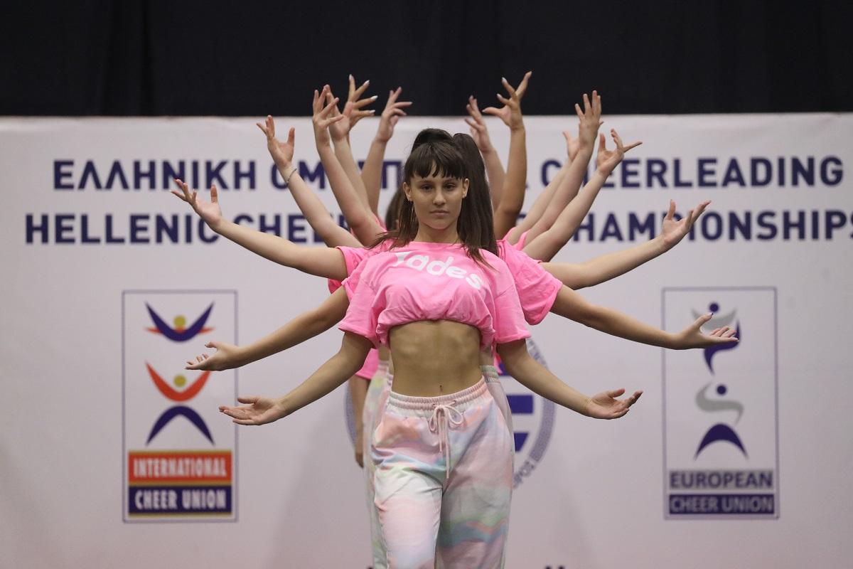 Όμορφο θέαμα στο 5ο Πανελλήνιο Πρωτάθλημα Cheerleading