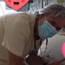 Δάκρυα συγκίνησης για την μικρή Τζωρτζίνα μετά από 3μηνη νοσηλεία στη ΜΕΘ