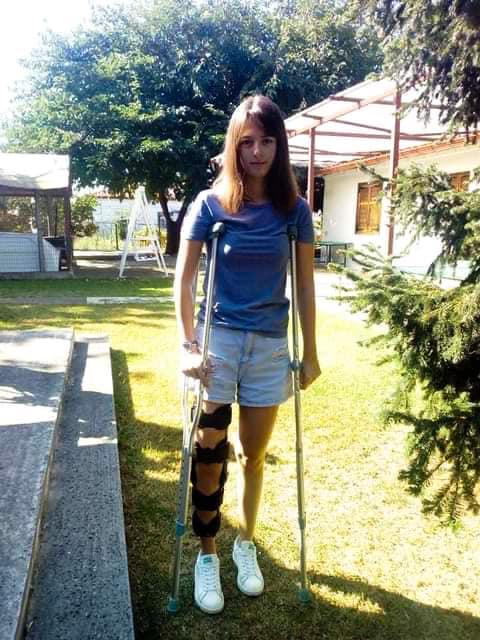 Καλά νέα για την 17χρονη Μαρία Ελένη που έχει ατροφία στο ένα της πόδι και ζητούσε τη βοήθειά μας
