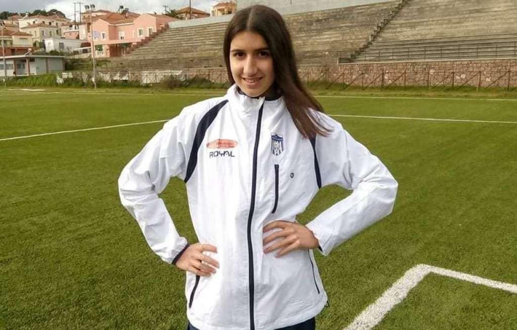"""Λέσβος: Πρωταθλήτρια και στις Πανελλήνιες 2021 η """"χρυσή"""" αθλήτρια στίβου Μαρία Κάσσου που ετοιμάζεται για Ιατρική"""