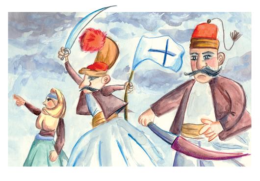 Ολοκληρώθηκε ο παιδικός διαγωνισμός ζωγραφικής των ΕΛΤΑ «Η Επανάσταση του 1821» - Οι νικητές