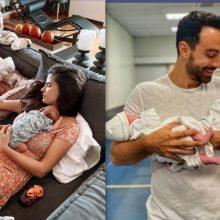 Χριστίνα Μπόμπα: Μας δείχνει πόσο μεγάλωσαν οι διδυμούλες τους (φωτό)