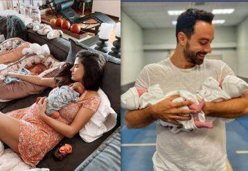Ο Σάκης Τανιμανίδης αποκαλύπτει άγνωστες λεπτομέρειες για τις διδυμούλες τους