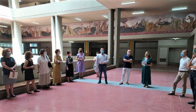 Αυτό το ελληνικό πανεπιστήμιο φιλοξενεί την τεραστίων διαστάσεων τοιχογραφία που αφηγείται την Οδύσσεια