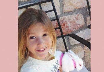 """""""Έφυγε"""" η μικρή Αναστασία, η ανιψιά της Έρρικας Πρεζεράκου, μετά από μάχη με τον καρκίνο"""