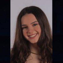 """Η 17χρονη Αργυρώ Χαριζώνα """"έπιασε"""" 19.507 μόρια, θέλει Οικονομικά και ονειρεύεται καριέρα στο Ευρωπαϊκό Κοινοβούλιο"""