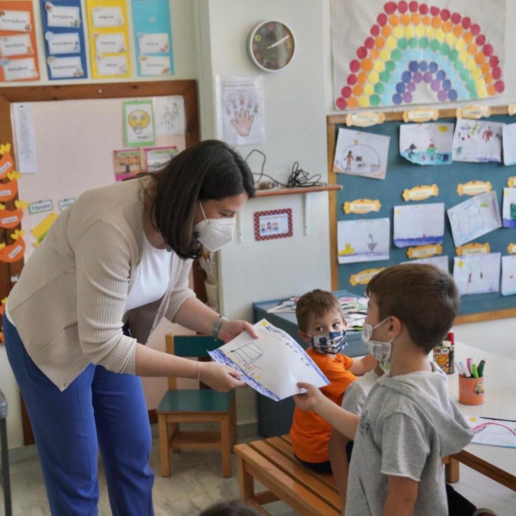 H Nίκη Κεραμέως αποκλειστικά στο Infokids.gr για το αναβαθμισμένο σχολείο που θα δουν οι μαθητές τον Σεπτέμβρη