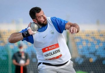 """""""Χάλκινος"""" ο Ευστράτιος Νικολαΐδης στη σφαιροβολία στους Παραολυμπιακούς Αγώνες"""
