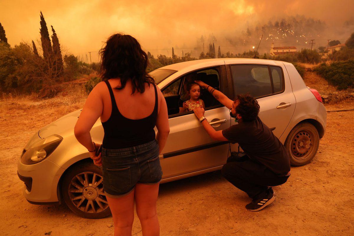 """Φωτορεπόρτερ Γιώργος Μουτάφης: """"Η Βαλεντίνα σταμάτησε να κλαίει"""""""
