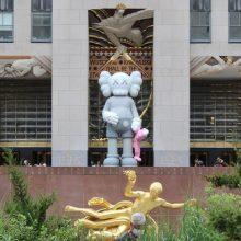 Γιατί στήθηκε ένας γιγαντιαίος Μίκυ έξω από το Rockefeller Center της Νέας Υόρκης;