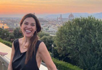Η Ναταλία Δραγούμη μας δείχνει τα δύο παιδιά της με φόντο τη Φλωρεντία!