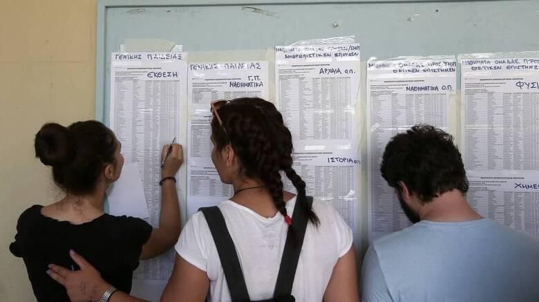 Βάσεις 2021: Ανακοινώθηκαν τα αποτελέσματα εισαγωγής στα ΑΕΙ – Δείτε online τα αποτελέσματα
