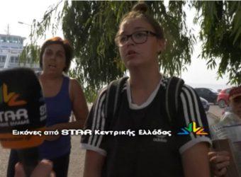 """Ροβιές: Οι κόρες εγκλωβισμένου βοσκού κάνουν έκκληση """"Ο πατέρας μας καίγεται"""""""