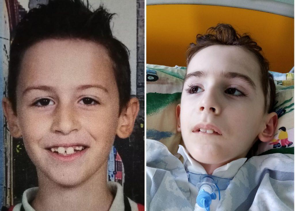 """Το """"ευχαριστώ"""" της οικογένειας του 10χρονου Αντώνη που πάσχει από βαριά εγκεφαλική παράλυση"""