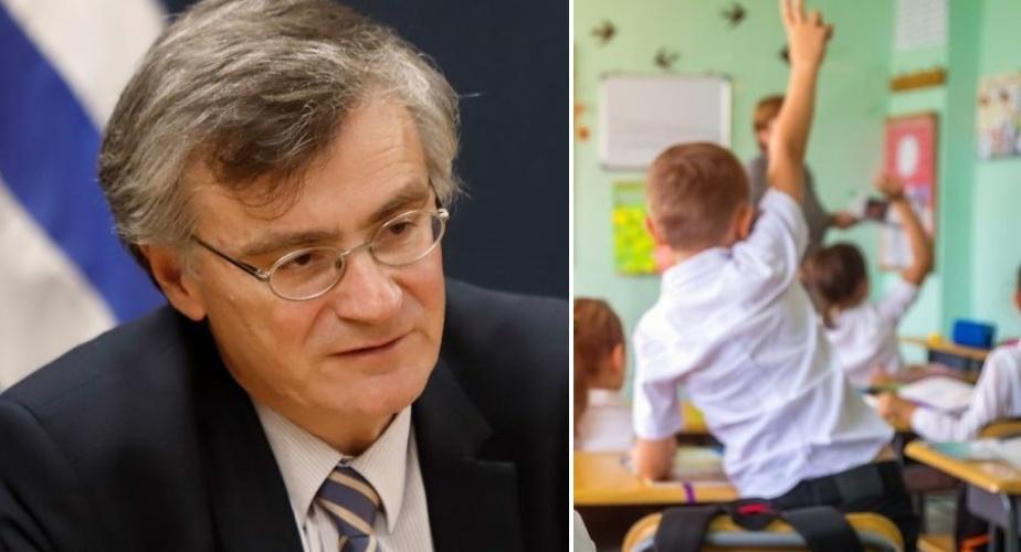 """Τσιόδρας: Έτσι θα """"νικήσουμε"""" τη διασπορά στα σχολεία και θα προστατεύσουμε ΟΛΟΥΣ τους μαθητές"""