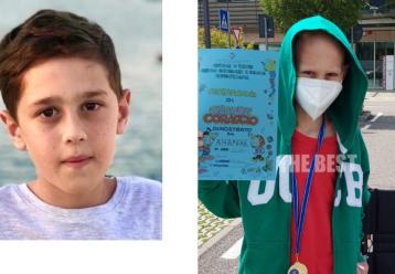 Τα νεότερα για την υγεία του 11χρονου Ανδρέα που διεγνώσθη με κακοήθη όγκο στον εγκέφαλο