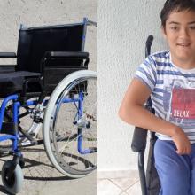 Έκκληση: Ο 16χρονος Λευτέρης με εκ γενετής παραπληγία χρειάζεται αναπηρικό αμαξίδιο και ορθοστάτη