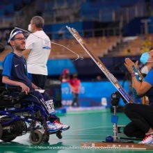 """""""Ασημένιος"""" ο Γρηγόρης Πολυχρονίδης στο μπότσια στους Παραολυμπιακούς Αγώνες"""