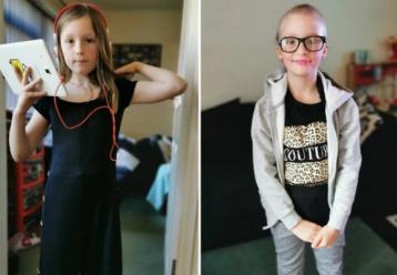 8χρονη έχασε όλα της τα μαλλιά της λόγω ψυχαναγκαστικής διαταραχής