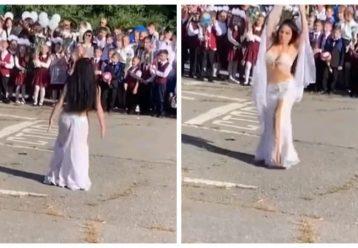 Τι άλλο θα δούμε - Δασκάλα υποδέχεται τα πρωτάκια στο σχολείο με… χορό της κοιλιάς!