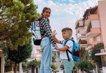 """Πρώτη μέρα στο σχολείο: Οι απίθανες φωτογραφίες που """"ανέβασαν"""" διάσημοι Έλληνες γονείς"""