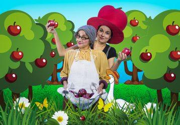 «Μήλα, Ζάχαρη, Κανέλα»: Η παράσταση που μαθαίνει στα παιδιά την αλληλεγγύη επιστρέφει στο Θέατρο Φούρνος