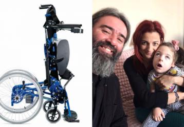 Έκκληση: Η μικρή Ζηναίς που έχει διαγνωσθεί με 100% αναπηρία ζητάει έναν ορθοστάτη