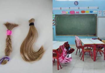 Ηχηρό μήνυμα για τον καρκίνο του μαστού έστειλε αυτό το σχολείο - Μαθήτρια έκοψε τα μαλλιά της και τα χάρισε (φωτό)