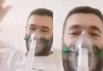 """""""Έχω μετανιώσει που δεν εμβολιάστηκα"""" λέει ο 39χρονος πατέρας 2 παιδιών μέσα από το νοσοκομείο"""