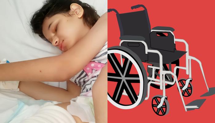 Η 13χρονη Παρασκευή- Εφραιμία πάσχει από σοβαρού βαθμού οστεοπόρωση και χρειάζεται ένα αναπηρικό αμαξίδιο