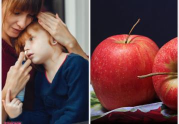 """Παιδίατρος: """"Καταιγίδα ιώσεων ταλαιπωρεί τα παιδιά. Γονείς, μην ξεχνάτε να τους δίνετε μήλο"""""""