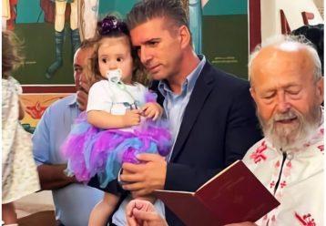 Βαφτίστηκε η Ανθή: Η συγκινητική ιστορία του μωρού από το σεισμόπληκτο Δαμάσι είναι ένα μάθημα ανθρωπιάς